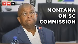 Former Prasa CEO Lucky Montana told Deputy Chief Justice Raymond Zondo that the State Capture Commission of Inquiry tried to curtail his evidence. Montana appeared at the commission on 11 May 2021.  #StateCapture #LuckyMontana #ZondoCommission