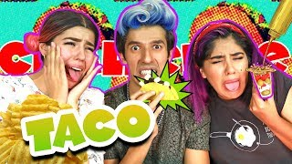 THE MOST DISGUSTING TACO CHALLENGE| LOS POLINESIOS CHALLENGE