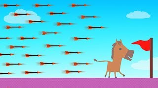 EXTREME Arrows vs RUNNERS! (Ultimate Chicken Horse)