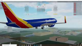 Roblox Flightline - Southwest Airlines Flug - #2