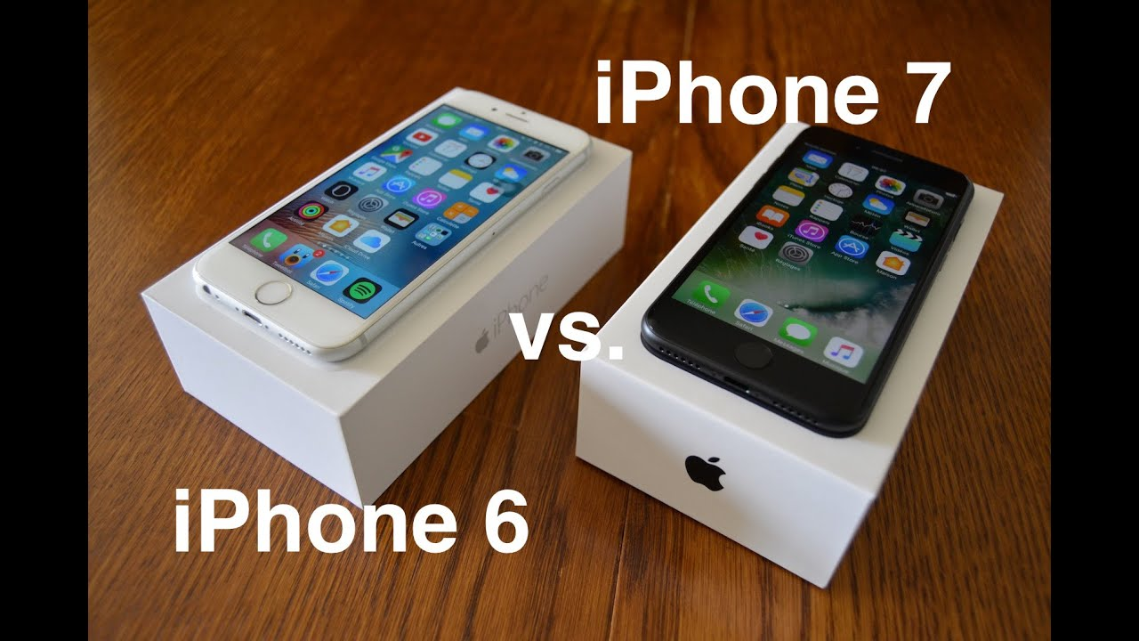 iphone 6 or 7 comparatif iphone 6 vs iphone 7 15008