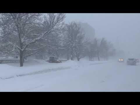 Watertown, NY Snowstorm - Jan. 31, 2019