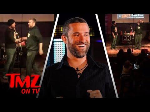 Dustin Diamond Takes A Shot Of Tobacco Spit!  TMZ TV