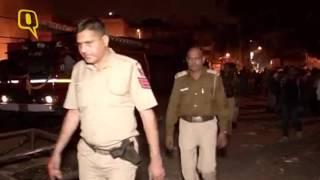 Fire Breaks Out Sadar Bazar Slum In Delhi