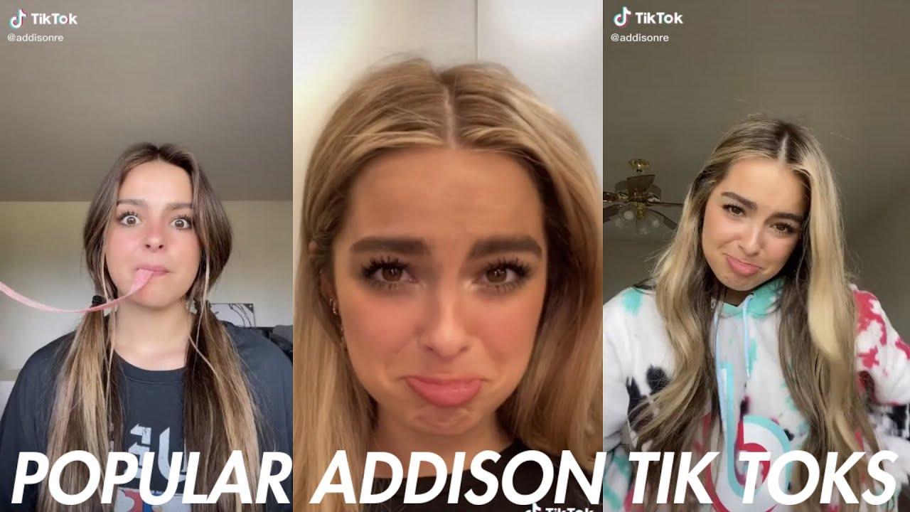 Addison Rae's Most Viewed Tik Toks Ever! | Popular Tik Toks 2020