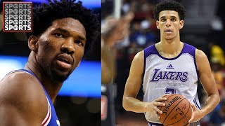 Lavar ball and joel embiid are beefing | lonzo ball and family are getting a facebook show
