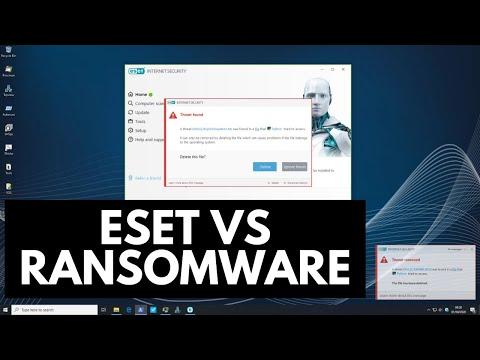 ESET Internet Security Vs Ransomware