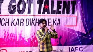 Dil E Umeed Tora Hai Kisi Ne , Ameer Hamza ,Sialkot Got Talent