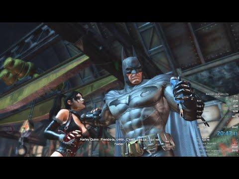 Return To Arkham City HQR Speedrun (20:47) [Old]