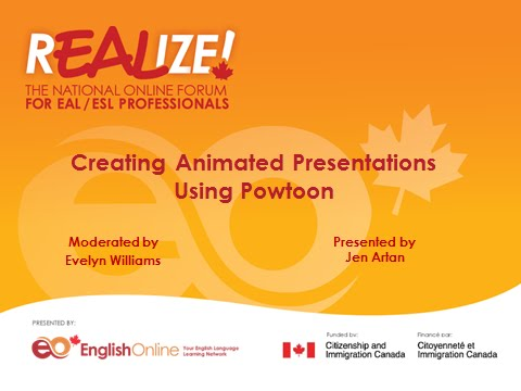 REALIZE 2015 Forum - Creating Animated Presentations Using Powtoon