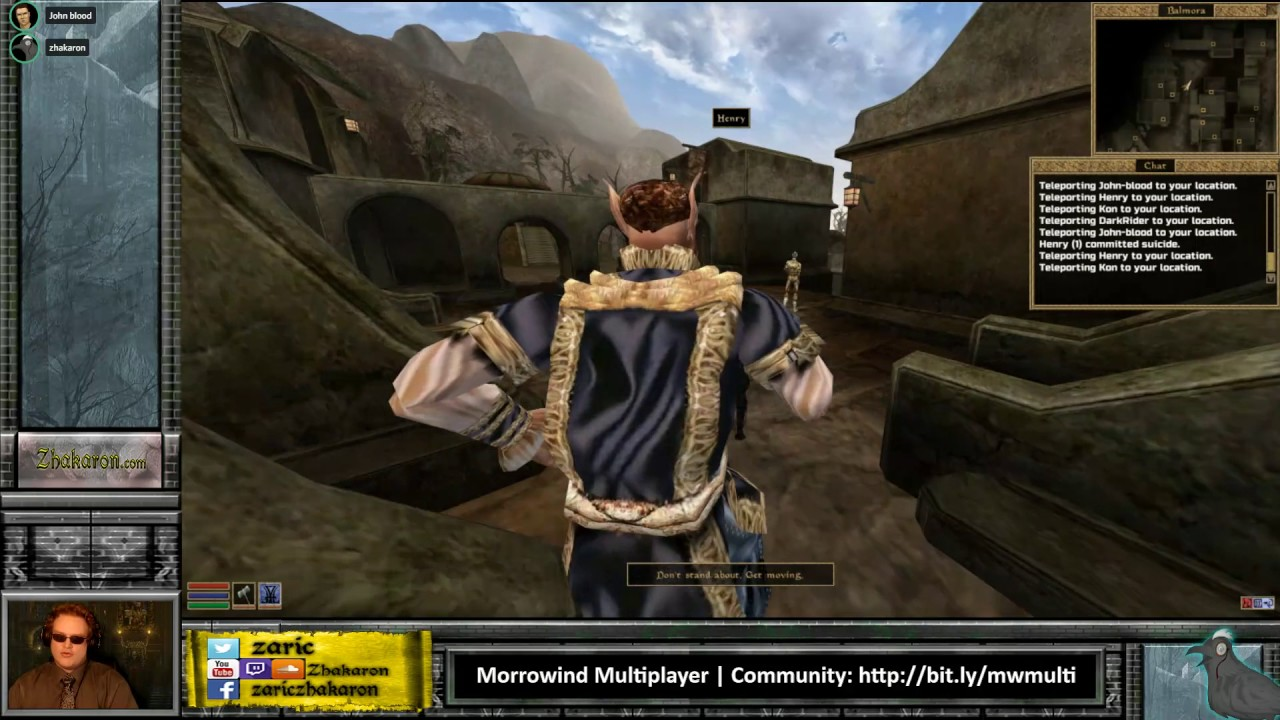 Morrowind Multiplayer Test 0 6 0 | Part 2 | TES3MP Group Play