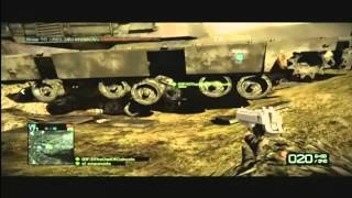 "Game Fails: Battlefield Bad Company 2 ""How to keep your sniper nice and safe"""