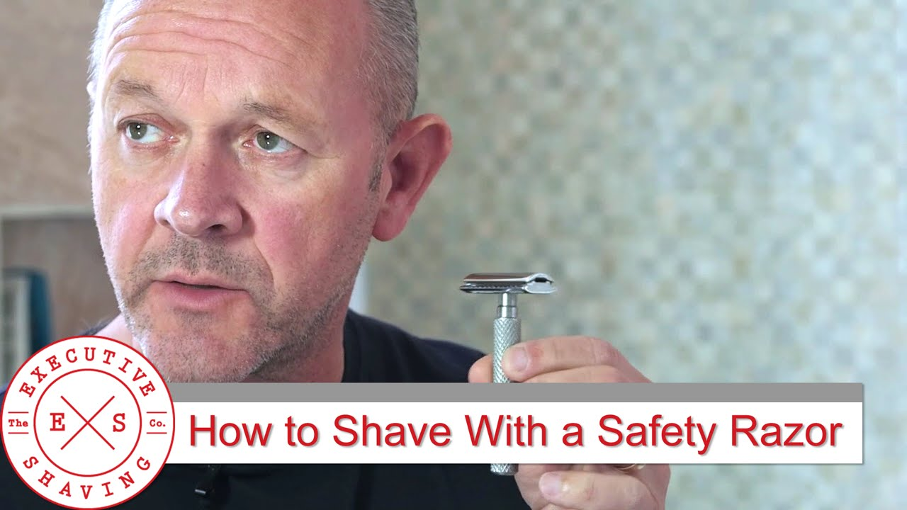 Tutorial: Learn How To Shave With a Safety Razor