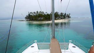 San Blas sailing and kitesurfing Panama - Catamaran Adventures San Blas, Panama: Paradise