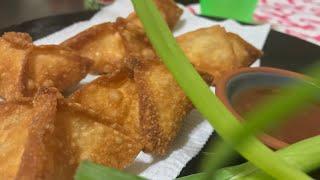 Crab Rangoon Recipe | How to make easy crab Rangoon recipe? | Crab Appetizer | Wonton Recipe | Crab
