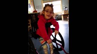"Video posted by Caitlin Nugent. Description: ""Some of you may know our wonderful friend Olivia but for those who haven't had the pleasure of meeting Olivia, here's a little bit about her. Olivia is one of the most vivacious, happy, loving, and upbeat 4 year olds I've ever met. I've been blessed to be able to work along side her for about a year and a half. Not a day has gone by that I haven't seen her light up a room and put smiles on everyones face whom she crosses paths with. Olivia also has CP (cerebral palsy). I've been able to witness first hand just how much progress she has made and how hard she works on a daily basis on everyday tasks most of us take for granted. The other day when I was talking with Olivia and her wonderful Grammy, she told me a secret. Since then, it has become a goal to make sure it happens. For all that Olivia has taught me and brought into my life, as well as everyone's life she brightens. Olivia's secret: she wants to marry Willie Cauley-Stein smile emoticon Now, my goal is to grab the attention of famous Wildcat and set up a meeting for her. Please help us by sharing this and the video to make it happen! She has brought so much joy into every life she's touched, help us return the favor! ‪#‎ForTheLoveOfOlivia‬ ‪#‎BBN‬ ‪#‎strivefornine‬ ‪#‎wildforthecats‬ ‪#‎williecauleystein‬"""