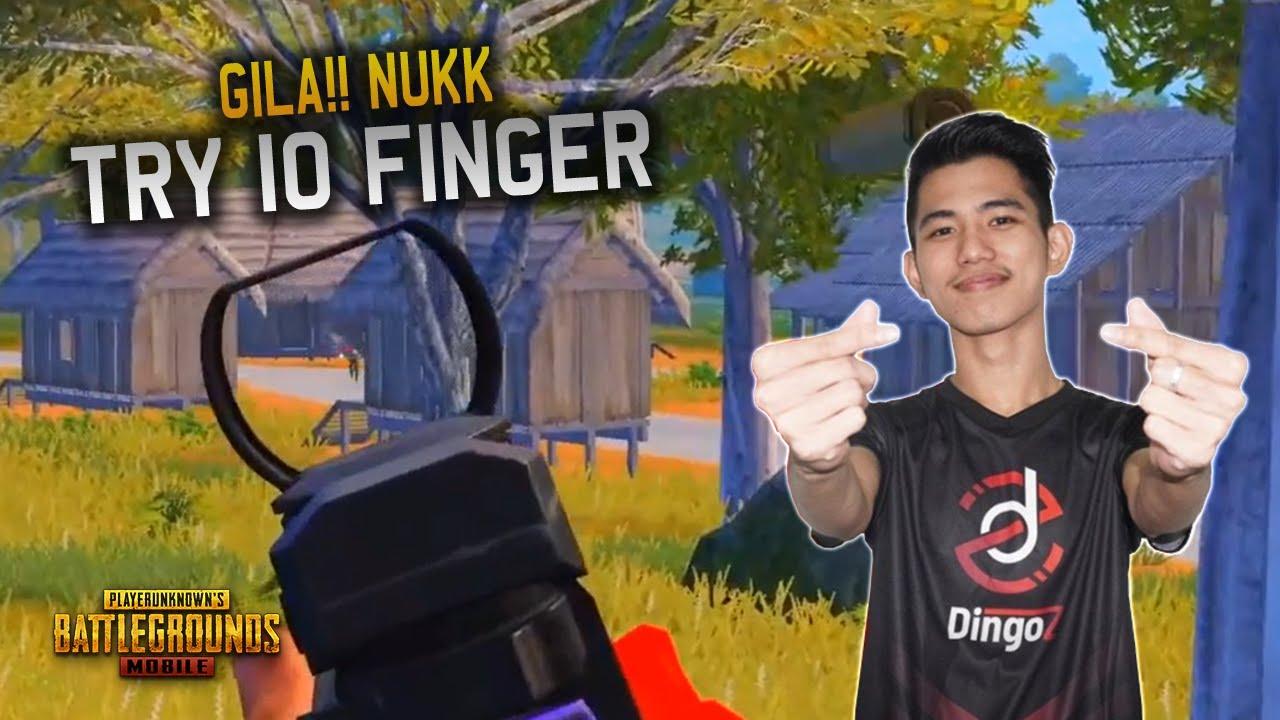 Nukk Try Main PUBG 10 Finger !?  Dingoz Nukk Gameplay - PUBG Mobile