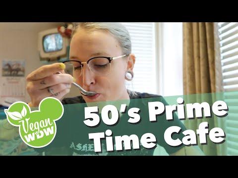 Vegan options at 50's Prime Time Cafe
