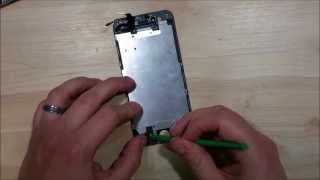 iPhone 6 Screen Repair Replacement Installation- Home Button, Ear Speaker, Front Facing Camera