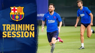 Messi, Suárez and Piqué among those in training during international break