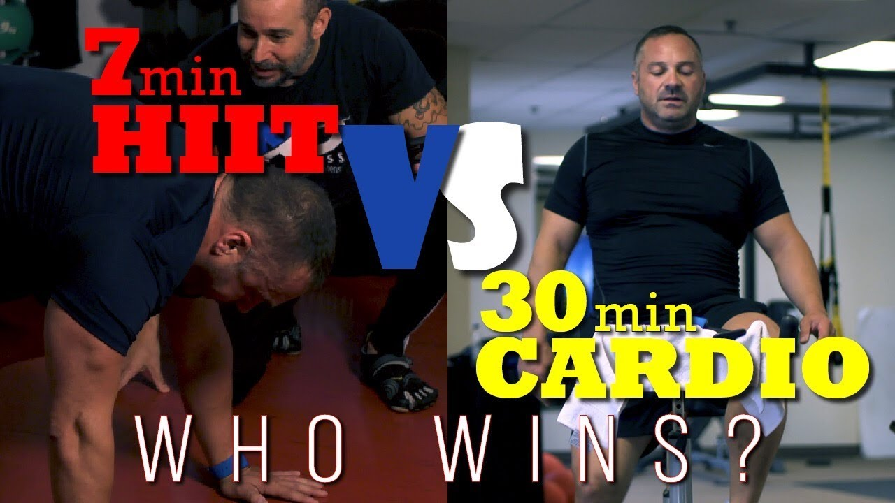 7 minute hiit workout vs 30 minute cardio experiment youtube. Black Bedroom Furniture Sets. Home Design Ideas