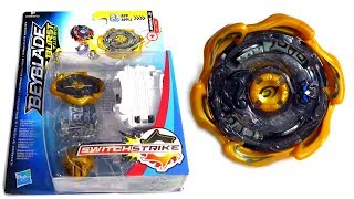 Gold Blast Jinnius J3 NEW Beyblade Turbo Switchstrike Review