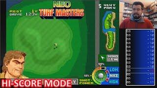 Buscando Récords con FERNANDO ALMEIDA - NEO TURF MASTERS PS4 Hi Score Mode || Gameplay Español
