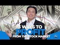 Stock investing & trading strategies by Adam Khoo. 3 Ways to Profit from the Stock Market