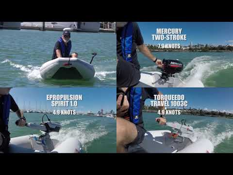 Electric outboard shoot-out ~ Boating NZ