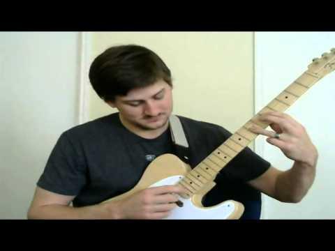 Jazz Guitar - Chime Chord Lesson - Artificial Harmonics