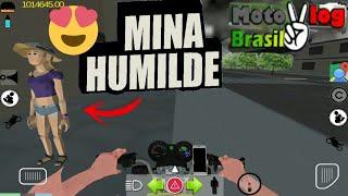 Ela foi humilde aceitou da um rolêzinho - moto vlog Brasil #vidaReal 3p