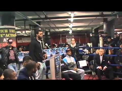 Victor Ortiz vs Luiz Collazo Full Press Conference  EsNews Boxing