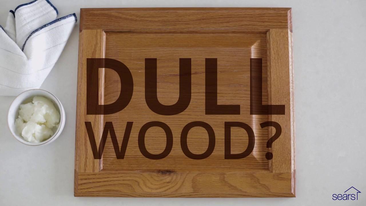 Sears Home Hacks How To Use Coconut Oil Polish Wood Cabinets