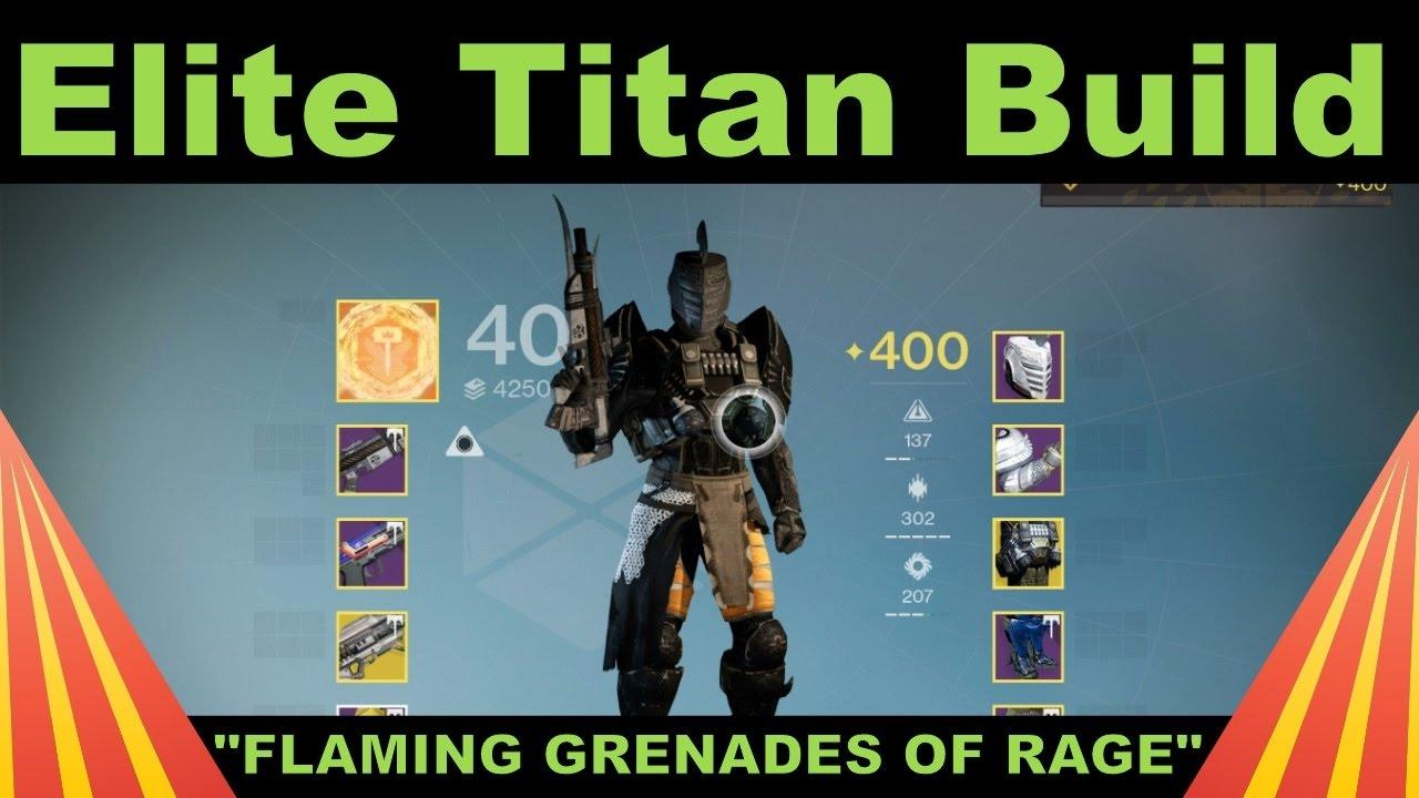 Elite PVP Titan Build   Destiny Class Setup   Patch 2 6 0 2