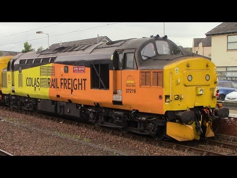 Colas Rail locos in Scotland compilation from January to October 2017