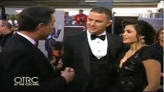 Channing Tatum Oscars Red Carpet INTERVIEW 2013 Oscars Academy Awards