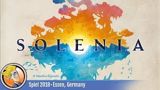 Solenia — game overview at SPIEL '18