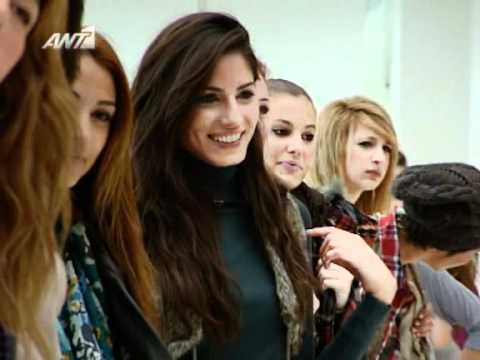 Greece's Next Top Model S2 / E5 [ 2 of 6 ] ANT1 GR ( 15/11/2010 )