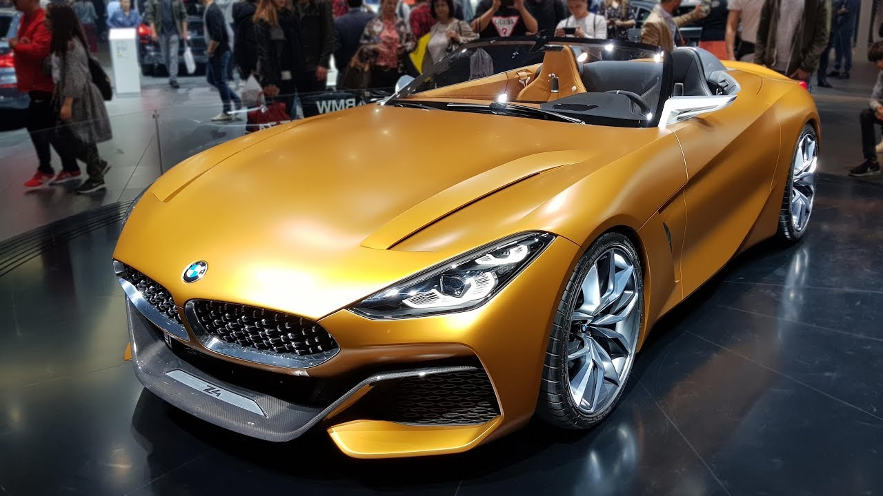 2018 Bmw Z4 Cabrio Concept Bmw View Youtube