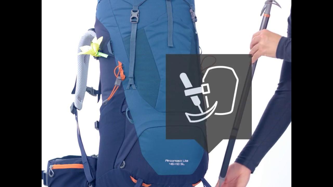e42f4500632c8 Aircontact Lite 50 + 10 - Trekkingbackpack - Deuter