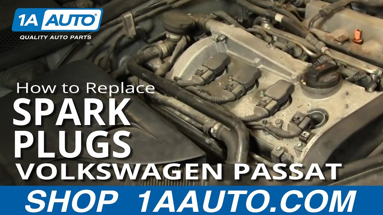 Vw Passat Engine Diagram Alarm Wiring Remote Start How To Install Replace Spark Plugs Volkswagen 1.8t 1aauto.com - Youtube