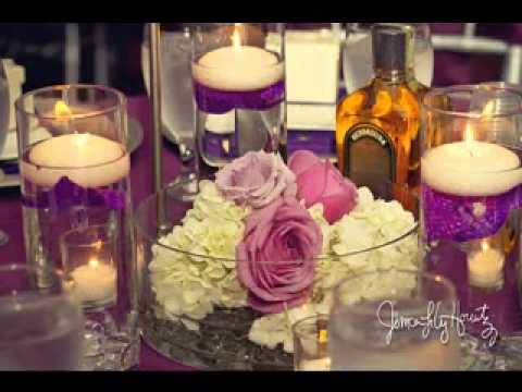 Cute Wedding Reception Centerpiece Decorating Ideas Youtube