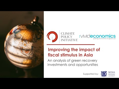 Asia Dialogue: Can Asia's fiscal stimulus packages become instruments for a green recovery?