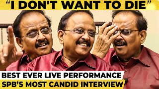 SPB:'I don't want to die'; 'நாங்க சாக விடமாட்டோம்!' Bosskey to SPB; Most Candid Throwback Interview