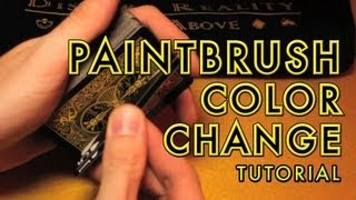 Paintbrush Change Tutorial -- Color Change