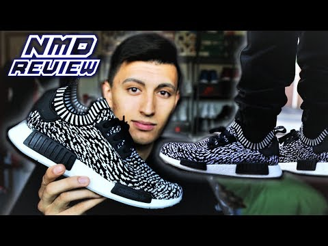 945a6a6c86a1e ADIDAS NMD R1 REVIEW (ZEBRA SASHIKO) - SNEAKERTALK - YouTube