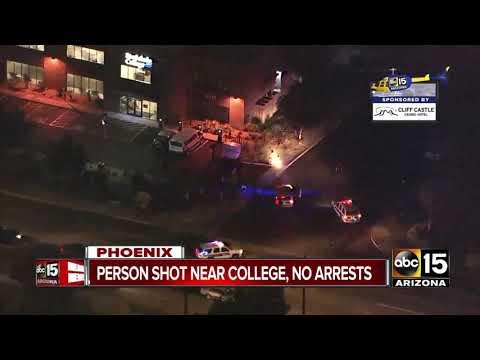 Person Shot Near Rio Salado College In Phoenix