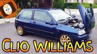 RENAULT CLIO WILLIAMS #1/2 [SUPER CAR VLOG] 🚗