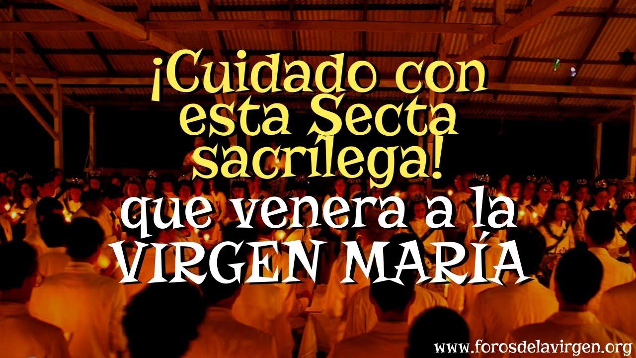 Download ¡Cuidado con esta Secta sacrílega que Venera a la Virgen María!