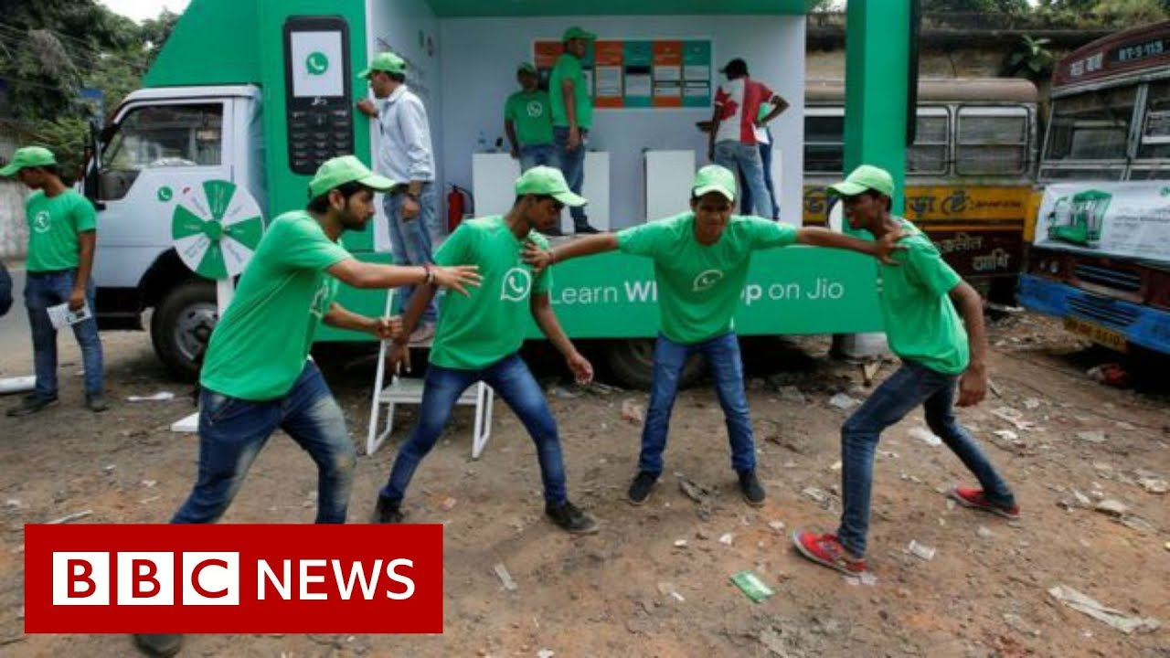 India election 2019: WhatsApp launched a service to combat fake news - BBC News